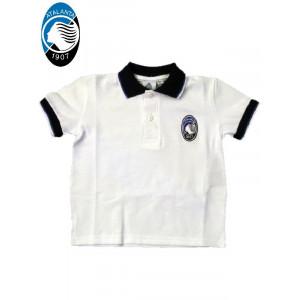 Polo manica corta bambino Atalanta B.C. calcio ufficiale *23265 | Pelusciamo.com