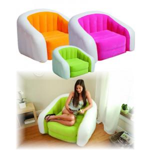 Poltrona Cafe Club Chair 97 x 76 x 69 cm, senza ftalati,Intex 68571NP *00413 | Pelusciamo.com