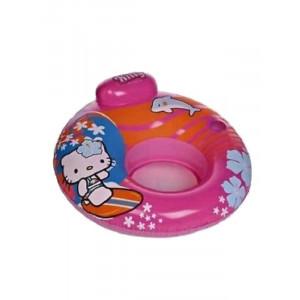 Poltrona Gonfiabile Ciambella Hello Kitty per bambina Mare Piscina | pelusciamo.com