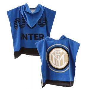 Poncho Inter Bambino Ufficiale FC Internazionale Accappatoio Bambino PS 10488