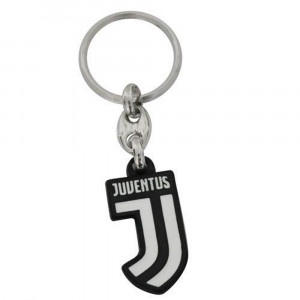 Portachiavi Juventus JJ  Metallo  Accessori Ufficiali Juve | Pelusciamo.com