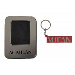 ec1049c4aa AC Milan Portachiavi Logo Metallo Accessori Ufficiali Calcio