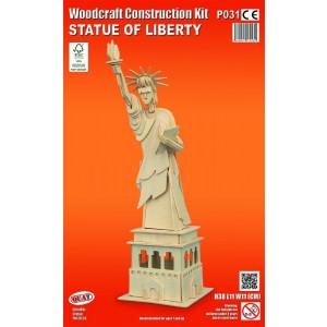 Puzzle 3D kit in legno statua della liberta Quay Quality 08214