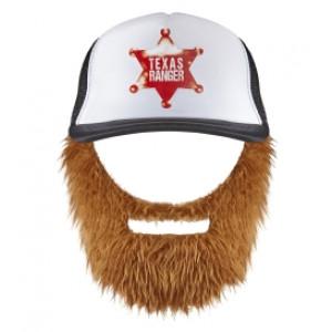 Cappello Texas Ranger con Barba Accessorio Carnevale | Pelsuciamo.com