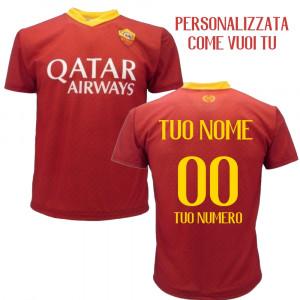 Maglia As Roma Personalizzata Maglietta Replica 2018 / 2019 | Pelusciamo Store Marchirolo