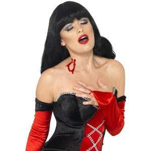Make Up Trucco Halloween Carnevale Morso Vampiro conte dracula Smiffys