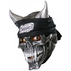 Maschera Halloween Carnevale Adulto Demone Choppers Rubies