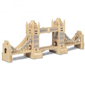 Puzzle 3D kit in legno Tower Bridge Quay Quality 08220 pelusciamo store