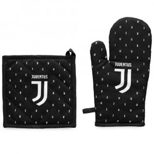 Set Barbecue Juve Juventus 1 Guanto + 1 Presina PS 00275