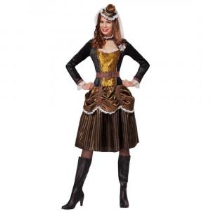 Costume Carnevale Donna Steampunk Girl PS 26246 Pelusciamo Store Marchirolo