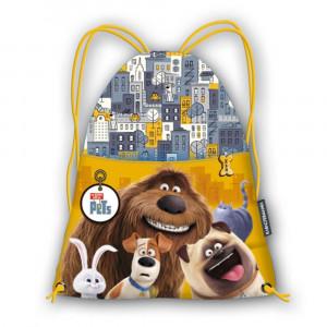 Sacca Multiuso Scuola Pets Vita da Animali  *11749 Tempo Libero    Pelusciamo.com