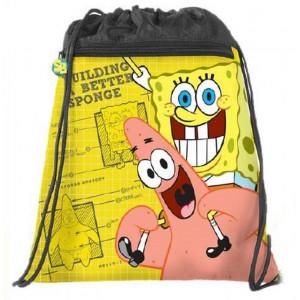 Sacca Multiuso Scuola Spongebob gialla Nickelodeon | Pelusciamo.com