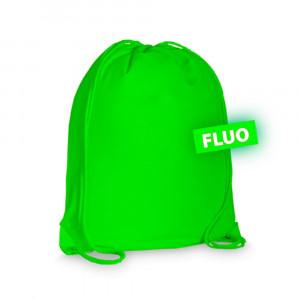 Sacca Sport Fluo Personalizzabile Palestra 37x40 cm PS 09861 Pelusciamo Store Marchirolo