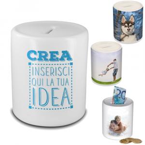 Salvadanaio In Ceramica  Personalizzabile  |  Pelusciamo Store Marchirolo