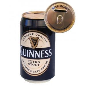 Salvadanaio Lattina Birra Guinness Beer Portamonete PS 15757 Pelusciamo Store Marchirolo