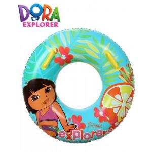 Salvagente con Maniglie Dora l' esploratrice Ciambella Piscina e Mare | pelusciamo.com