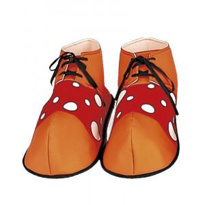 Accessorio costume Carnevale copriscarpe da Clown Pagliaccio *19761 pelusciamo store
