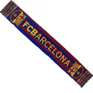 Sciarpa Barcellona Calcio Tifosi Supporters Stadio Blaugrana 130x20 Cm. PS 01922
