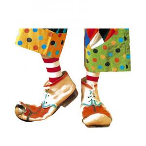 Copriscarpe Clown Accessorio Costume Carnevale Adulto Circo |  Pelusciamo store