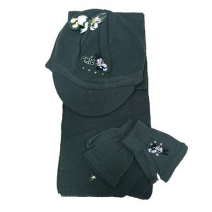 Set invernale sciarpa cappello guanti Paperina Daisy Disney pelusciamo store