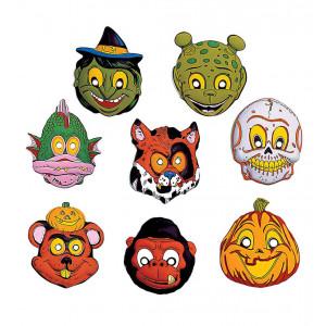 Set 24 Maschere da Bambino per Halloween   |  pelusciamo store