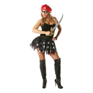Set Costume Carnevale Donna Pirata Tutù | Pelusciamo.com