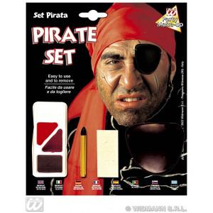 Set Trucco con Accessori da Pirata  *24592 Carnevale  | pelusciamo.com