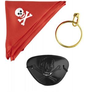 Accessorio Costume Carnevale Set da Pirata  | pelusciamo.c
