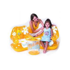 poltrona-tavolino-gonfiabile-titty-accessori-piscina-tweety-looney-tunes-13162