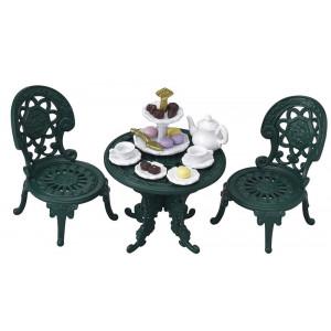 Set Tavolino e Sedie da Tè Sylvanian Families ,Gioco Bambole The Set |  pelusciamo store