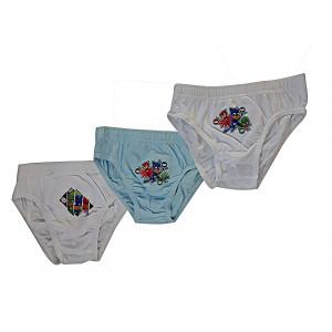 Set 3 Slip Pjmasks SuperPigiamini T-shirt Pj Masks PS 09703 Pelusciamo Store Marchirolo