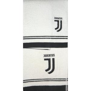 Set Bagno Juventus 2 Asciugamani Piccolo E Grande PS 01714 Logo Nuovo JJ Pelusciamo Store Marchirolo