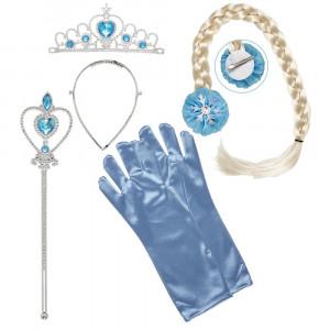 Set Principessa Delle Nevi Accessori Carnevale Principesse PS 26458 Pelusciamo Store Marchirolo