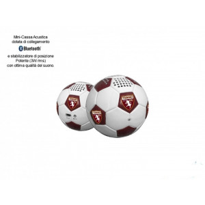 Altoparlante Bluetooth A Forma Di Pallone Da Calcio Torino Fc   Pelusciamo.com