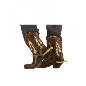 Speroni x stivali cowboy accessorio costume carnevale far west *19738 pelusciamo store