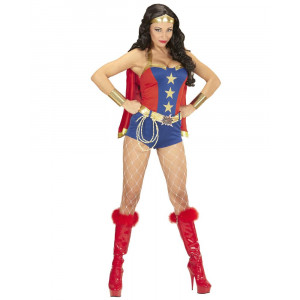 Costume Carnevale Donna Super Powers Girl PS 26066