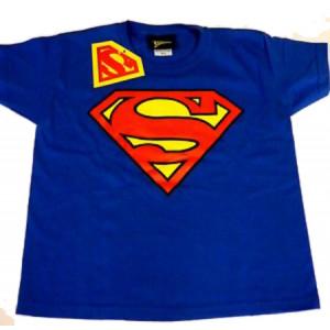 T-Shirt Maglietta Bimbo Superman Bambino