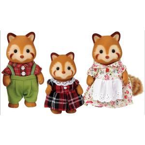 Famiglia Panda Rossi Sylvanian Families  |  pelusciamo store