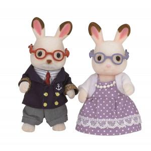 Nonni Conigli Cioccolato Sylvanian Families  * 03069 Personaggi   |  pelusciamo store