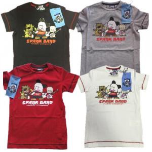 T-Shirt Bambino/a Hello Spank Band, Maglietta maniche corte cartoon | pelusciamo.com