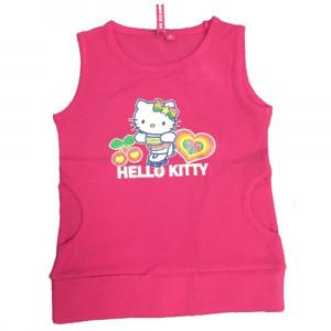 Top Bimba hello Kitty Pattini Glitter, Maglietta Smanicata | pelusciamo.com