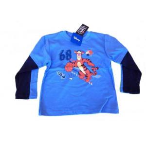 T-shirt Disney serie Winnie the Pooh maglia manica lunga Tigro *13653 pelusciamo store