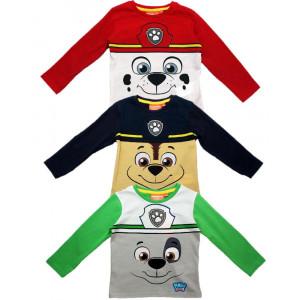 T-shirt maglietta bimbo Paw Patrol 24527 Maglia Manica lunga pelusciamo store