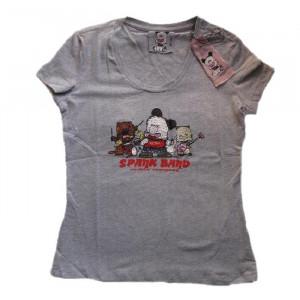 T-Shirt Donna Hello Spank Band, maglietta maniche corte | pelusciamo.com