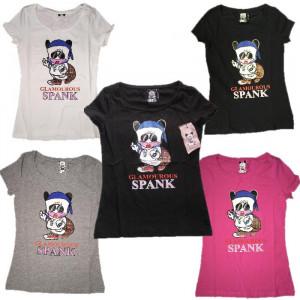 T-Shirt Donna Hello Spank Glamour Maglietta maniche corte cartoon | pelusciamo.com
