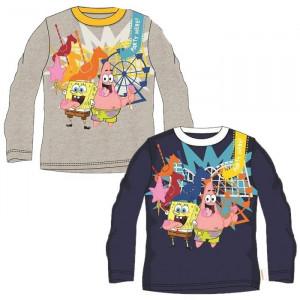 Maglietta manica lunga Bimbo Spongebob, Maglia Bambino Patrick | pelusciamo.com