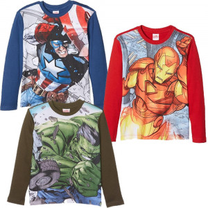 Maglietta Bambino Hulk Iron Man Capitan America Avengers Marvel PS 25541 Pelusciamo Store Marchirolo