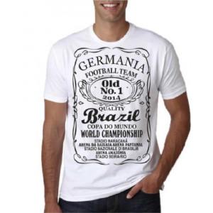 T-shirt Nazionale Tedesca Maglietta Germania Mondiali 2014 Brasile Brazil PS 18138