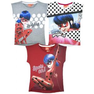 T-shirt Bambina Canotta Miraculous LadyBug PS 26948 Pelusciamo Store Marchirolo