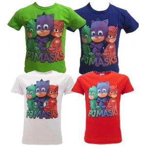 Maglietta SuperPigiamini Pjmasks T-shirt Bimbo Pj Masks PS 25094 - pelusciamo store